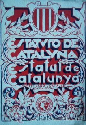 estatut catalunya estatuto cataluña