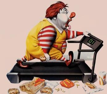 incongruencia obesidad alimentación deporte grasas