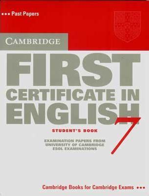 first certificate in english cambridge