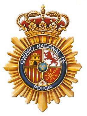 insignia policia nacional