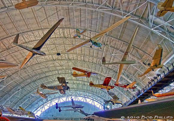 aviación general en el museo del aire  de Dulles