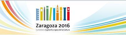 zaragoza candidata capital cultural 2016
