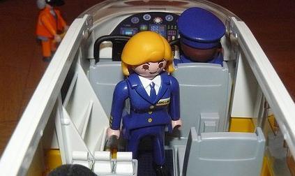 azafata de vuelo tcp