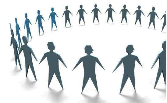 circular en corro y unidad de acción