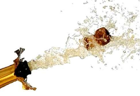 descorchando cava o champan feliz año 2011