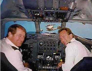 pilotos haciendose la foto