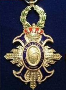medalla de la orden del merito civil