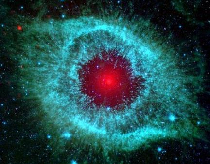 origen de la luz el ojo de Dios