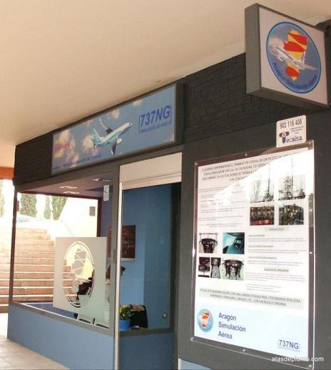 Aragón Simulación Aérea simulador 737 NG