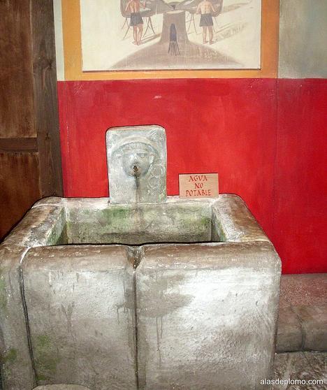 fuente de agua pública romanorum vita