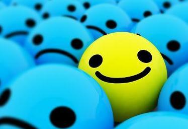 sonrisa optimista contra la depresion