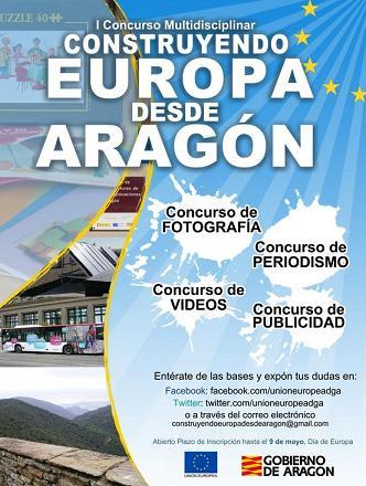 construyendo europa desde aragon cartel concurso