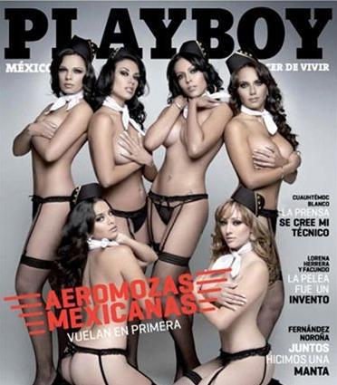 azafatas mexicanas en playboy