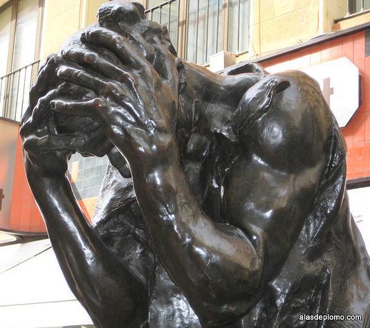 pensando o filosofando de Rodin en Zaragoza