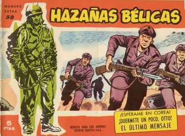 hazañas belicas comic guerra