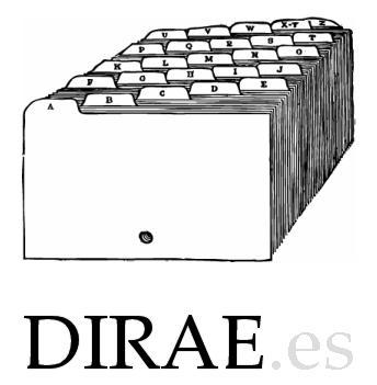 enlace con dirae diccionario lengua española