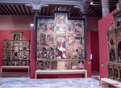 retablos aragoneses en palacio de sastago