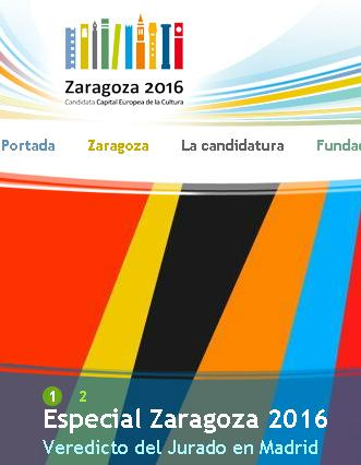 zaragoza 2016 capital cultural europea