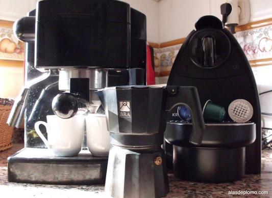 cafeteras express nespresso y bra