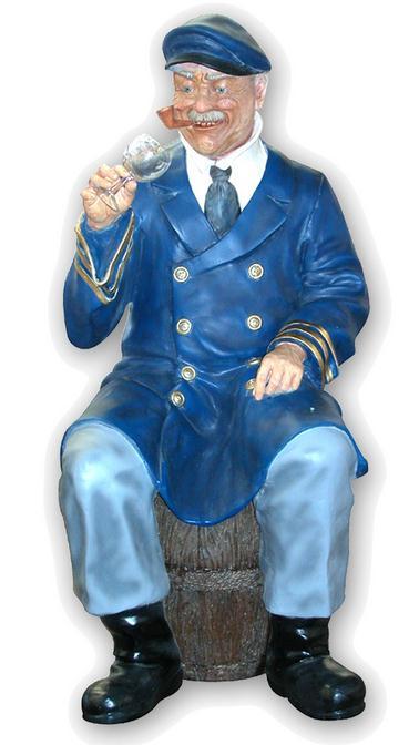 capitán o comandante de barco
