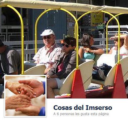 COSAS DEL IMSERSO en facebook