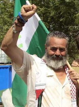 Juan Manuel Sánchez Gordillo alcalde de Marinaleda