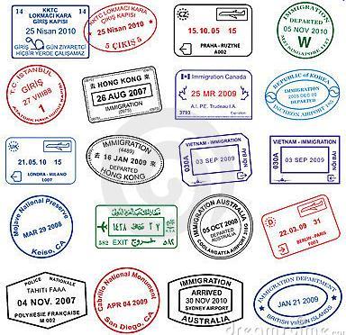 visados de pasaporte