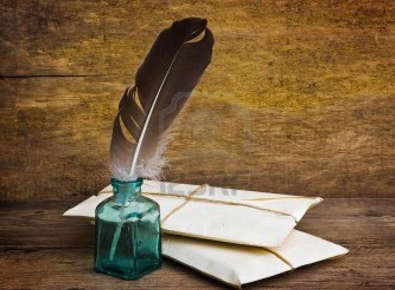 recado de escribir cartas