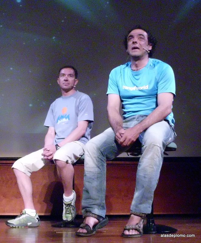 Carlos Pauner y Raúl Martínez