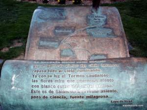 Poema de Unamuno a Salamanca