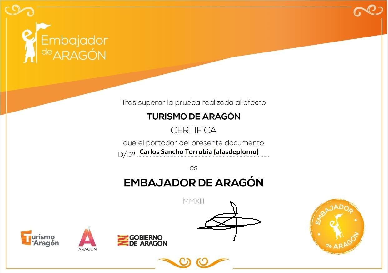 Embajador de Aragón