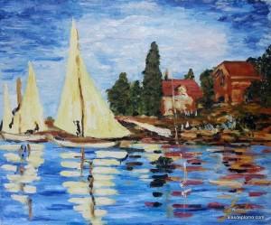 Copiando a Monet