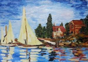 Regatas en Argenteuil (Monet)